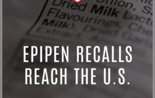 Epipen Recalls Reach the U.S.