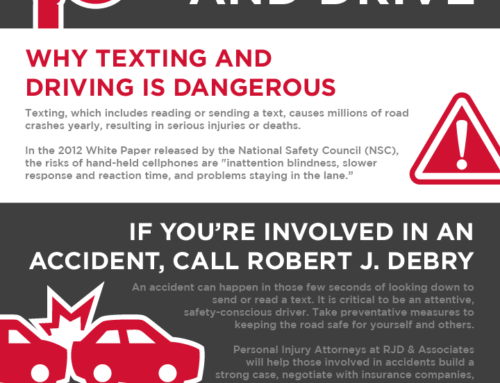 Personal Injury Attorney Advice: Don't text and drive.